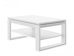 Konferenční stolek rozkládací Porti (bílá)