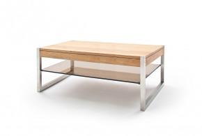 Konferenční stolek Saget - 105x38x65 (dub, hnědá)