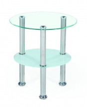 Konferenční stolek Sardinia (sklo)