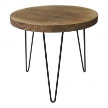 Konferenční stolek Shape 34x31x34 (světlé dřevo)