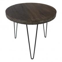Konferenční stolek Shape 34x31x34 (tmavé dřevo)