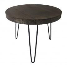 Konferenční stolek Shape 45x36x45 (tmavé dřevo)