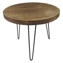 Konferenční stolek Shape 50x42x50 (světlé dřevo)