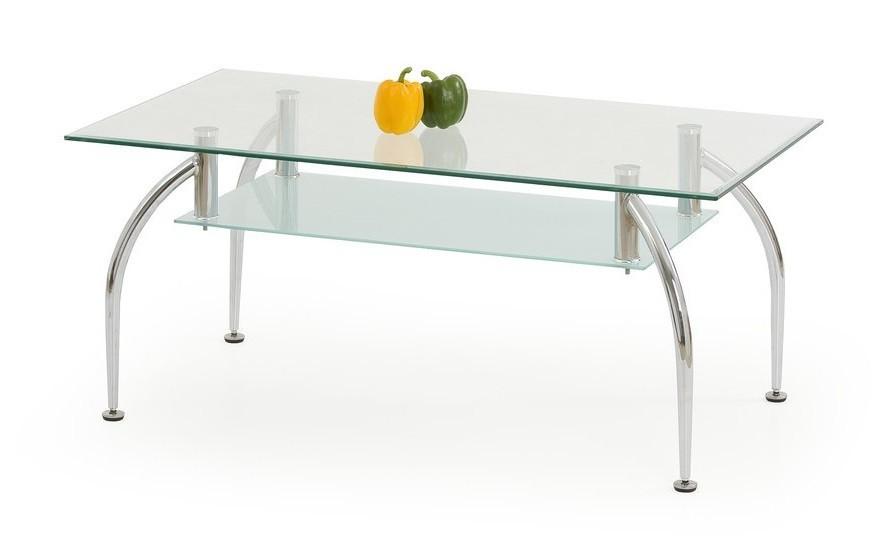 Konferenční stolek - skleněný Angus(sklo)