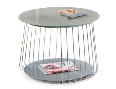 Konferenční stolek - skleněný BRW Riva