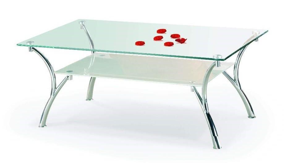 Konferenční stolek - skleněný Carmen(sklo)