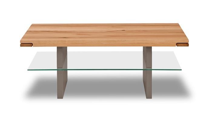 Konferenční stolek - skleněný Feel - Konferenční stolek (divoký buk/cubanit)