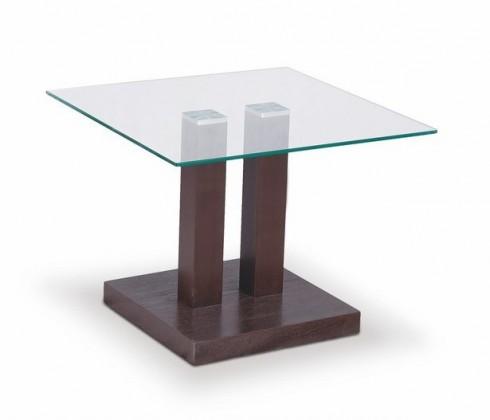 Konferenční stolek - skleněný Gaya(wenge)