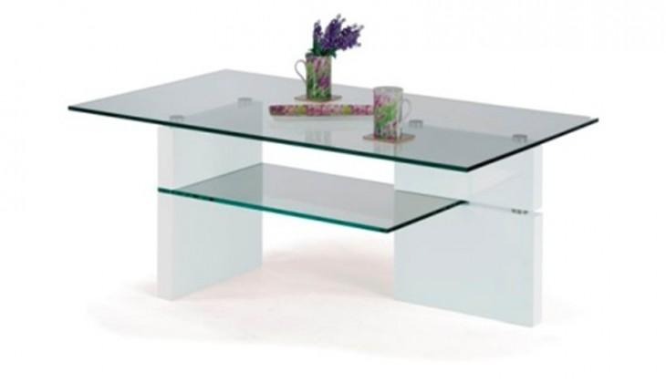 Konferenční stolek - skleněný Oregon konferenční stolek