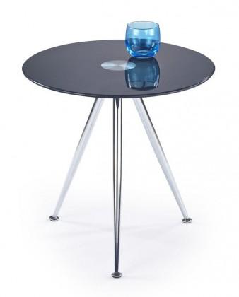Konferenční stolek - skleněný Siena(černá)