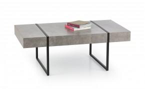 Konferenční stolek Tiffany  (beton/černá)
