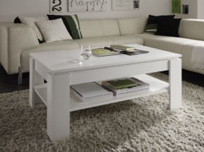 Konferenční stolek Universal (bílá)