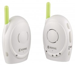 KÖNIG Digitální dětská audiochůvička, 2,4 GHz  - KN-BM10