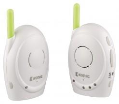 KÖNIG Digitální dětská audiochůvička, 2,4 GHz  - KN-BM10 POUŽITÉ