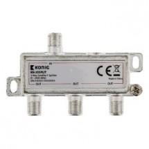 KÖNIG satelitní rozbočovač 11.0 dB / 5-2400 MHz - 3 výstupy POUŽI