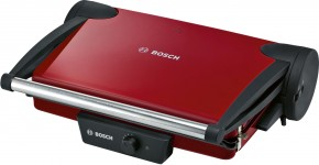Kontaktní gril Bosch TFB4402V, červený