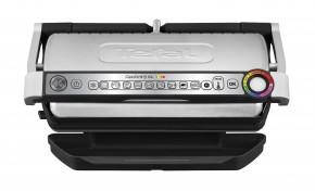 Kontaktní gril Tefal Optigrill+ XL GC722D34, 2200W + Kuchyňské prkénko Tefal
