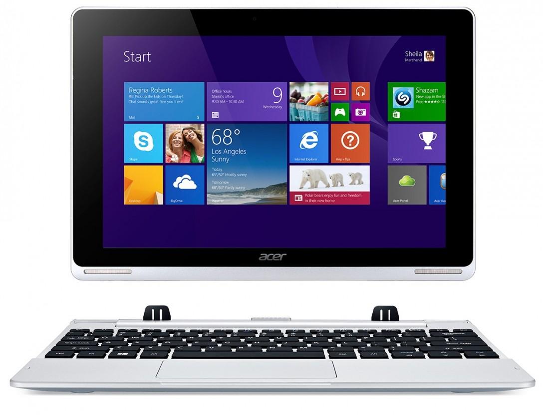 Konvertibilní, 2v1 Acer Aspire Switch 10 NT.L6HEC.005, bílá