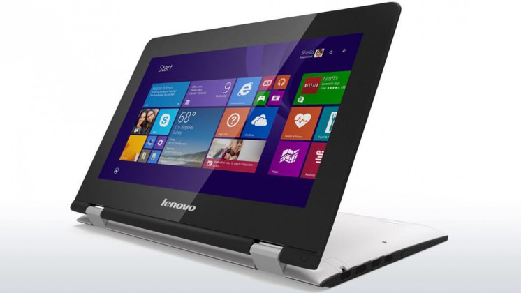 Konvertibilní, 2v1 Lenovo IdeaPad Yoga 80M1001RCK