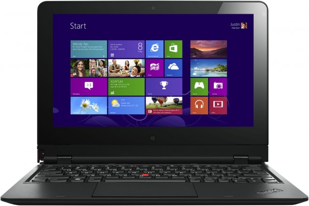 Konvertibilní, 2v1 Lenovo ThinkPad Helix N3Z45MC, černá