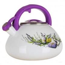 Konvice Banquet ELDBNQ1000 Lavender, smaltovaná, 3l