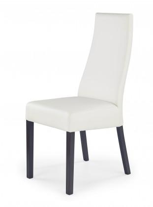 Kordian - Jídelní židle (bílá, wenge)