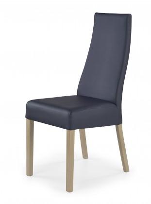 Kordian - Jídelní židle (černá, dub sonoma)