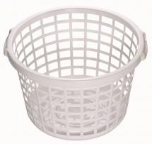 Koš na čisté prádlo, bílá