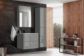 Koupelnová sestava Grenya (šedá lesk)