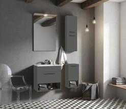 Koupelnová sestava Sanya (antracit)