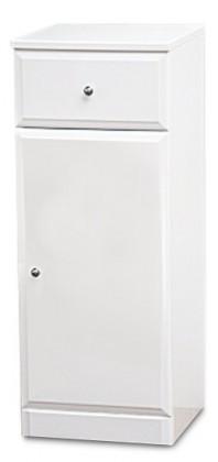 Koupelnová skříňka SD 302 volně stojící (bílá, lesk)