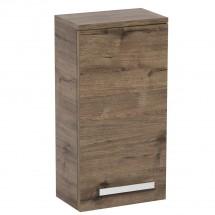 Koupelnová skříňka Tiera závěsná (32,5x163x33 cm, dub)