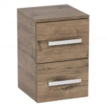 Koupelnová skříňka Tiera závěsná (32,5x63x20 cm, dub)