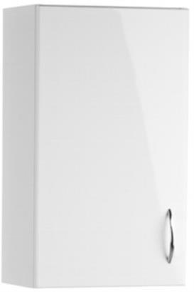Koupelny ZLEVNĚNO Loara Bianco - Skříňka záv. (bílá)