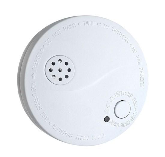Kouřové čidlo Detektor kouře s alarmem Solight 1D33, bílý