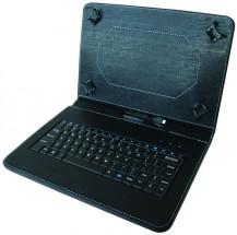 """Kožené pouzdro s klávesnicí iGET pro tablet 10"""", černá"""