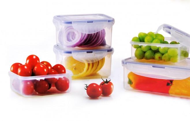 Krabičky na jídlo Dózy na potraviny Lock&Lock HPL806S5, 5ks