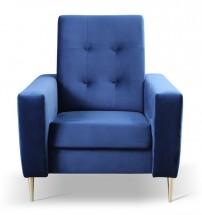 Křeslo Zara modrá