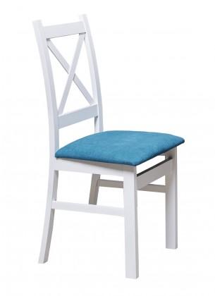 Křížák - Jídelní židle, čalouněná, nosnost 120kg (aston19/mat)