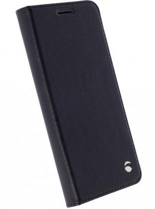 Krusell flipové pouzdro MALMÖ FolioCase SG S7 edge, černá