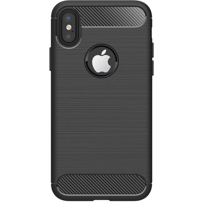 Kryty na iPhone Zadní kryt pro Apple iPhone XR, karbon, černá