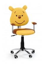 Kubus - dětská židle (hnědá)