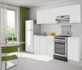 Kuchyně Eco - 220 cm (bílá)