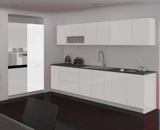 Kuchyně, jídelny ZLEVNĚNO Emilia - Spižní skříň, 60 cm (bílá)