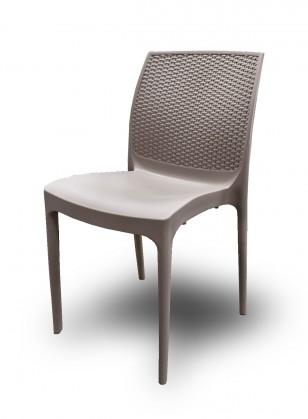 Kuchyně, jídelny ZLEVNĚNO Jídelní židle Boheme (juta) - II. jakost