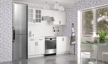 Kuchyně Michelle - 220 cm (bílá)