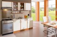 Kuchyně Milly - 210 cm (vanilka/olše)