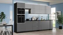 Kuchyně Mindy 320 cm (šedá mat)