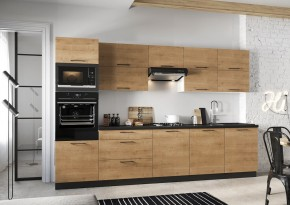 Kuchyně Natali 320 cm (dub lefkas)