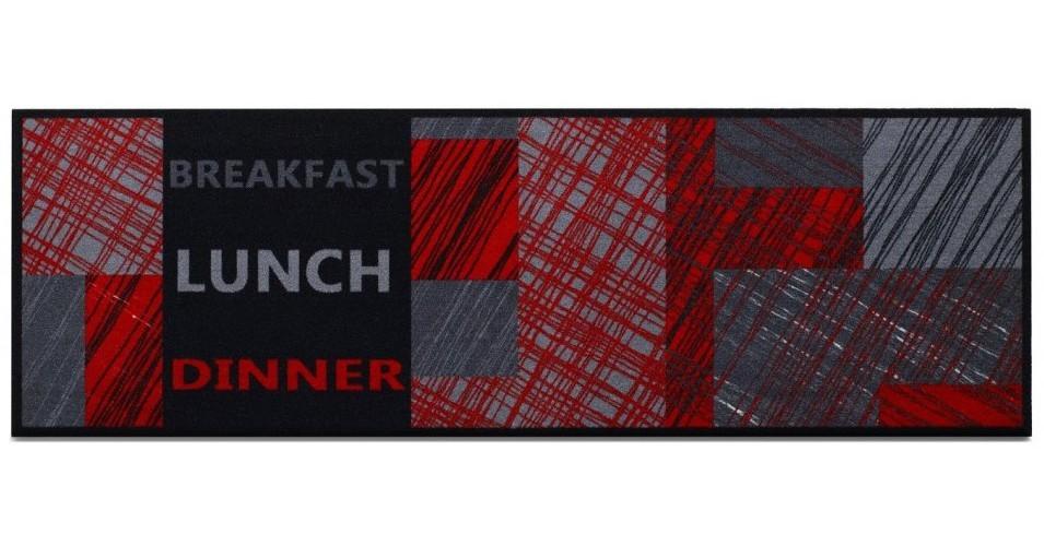 Kuchyňská předložka Lunchred (červená)